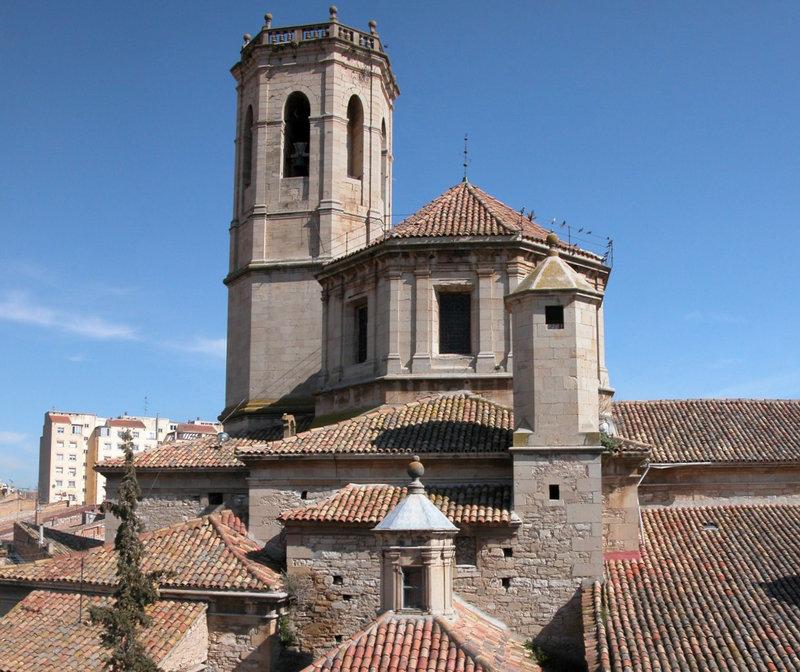 Església de Santa Maria de l'Alba de Tàrrega. Projecte de rehabilitació del campanar campanar. Tàrrega Foto: Ajuntament de Tàrrega